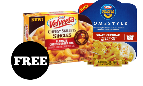 free kraft mac and cheese