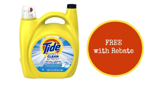 free tide laundry detergent