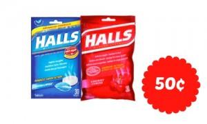 halls cough drops coupon