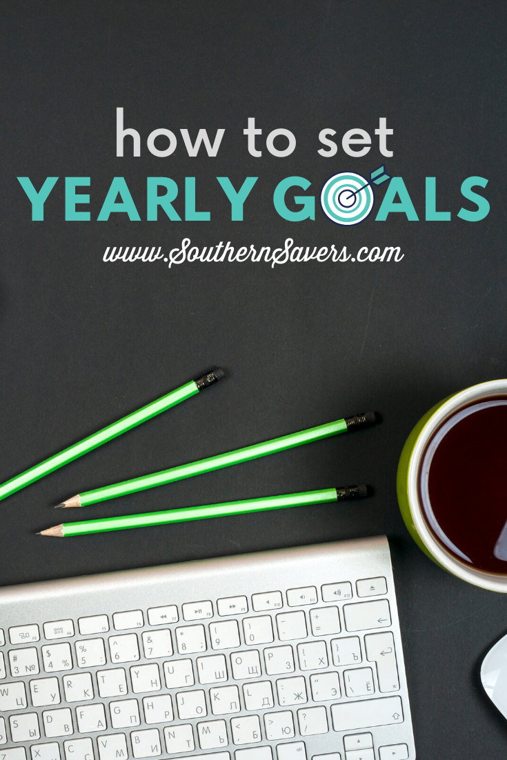 This is the time to start thinking about next year. Learn how to set yearly goals (and actually follow through with them) to improve your life!