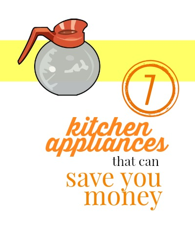 These small kitchen appliances are common, but can actually help you to save money.