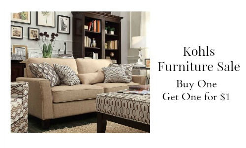 kohls furniture sale
