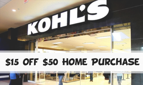 kohls home purchase