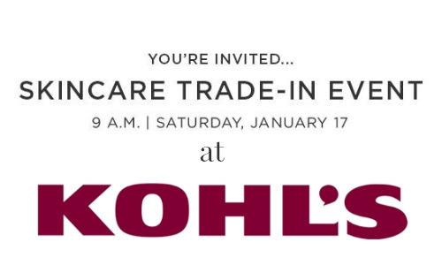 kohl's trade in event