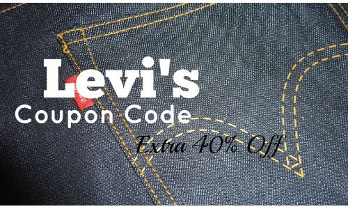 levi u0026 39 s coupon code  extra 40  off clearance   free