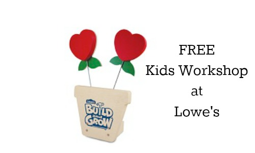 lowes kids workshop
