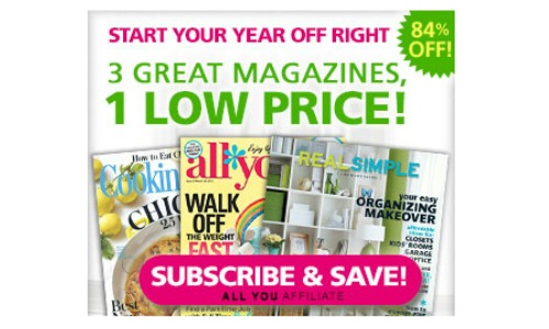 magazine deal all you