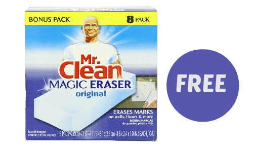 mr clean magic erasers