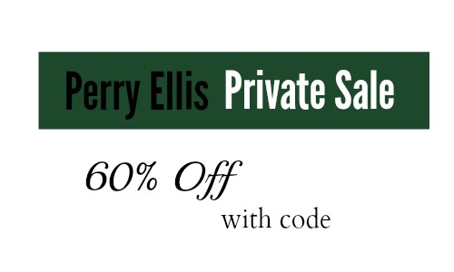 perry ellis private sale 60 off