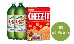 publix deal cheez its and canada dry