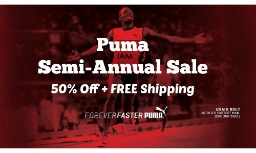 puma semi-annual sale