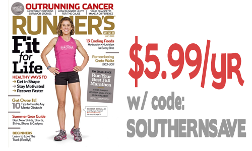 runners world button