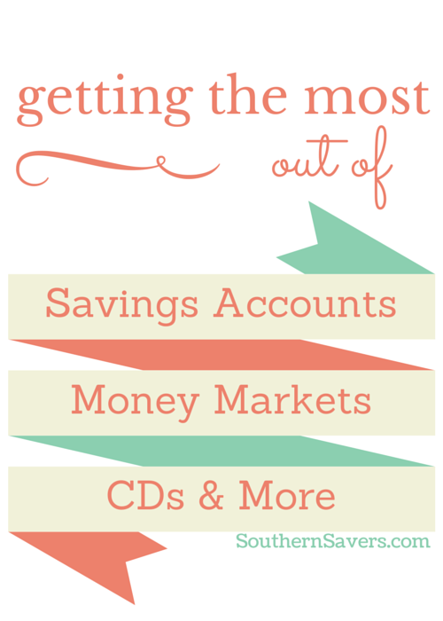 Getting The Most For Your Money Savings Account Cd