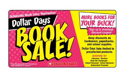 scholastic warehouse dollar days