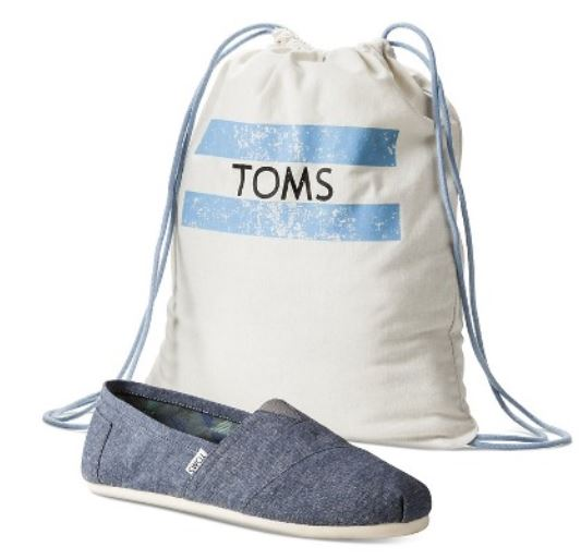 Target to start selling TOMS shoes, announcement made by CEO