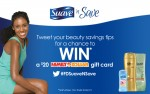 Suave Sweepstakes:  Enter Every Week to Win $20