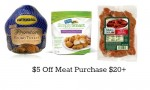 Target Coupon | $5 Off Meat Purchase of $20+