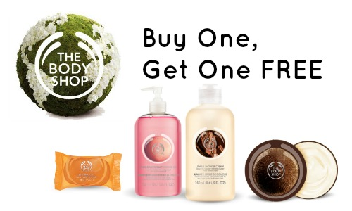 the body shop bogo sale