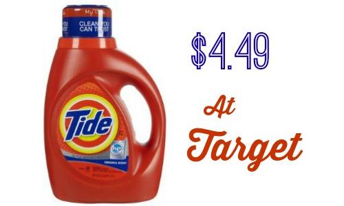 tide target deal