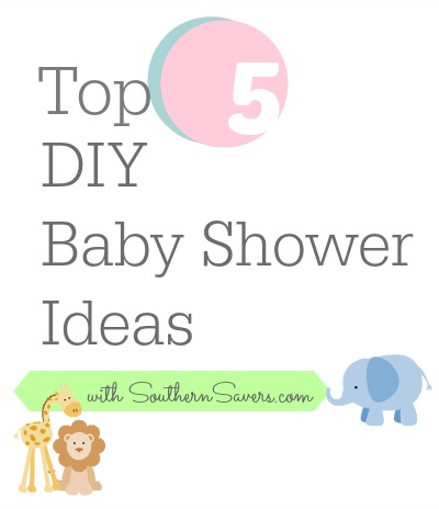 top 5 baby shower diy ideas