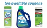 Top Printable Coupons | Lysol, Purex & More