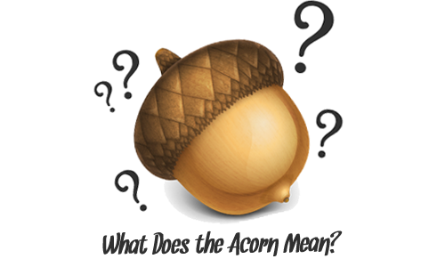 what does the acorn mean