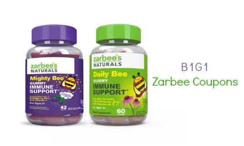 zarbee coupons