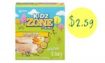 ZonePerfect Coupon | Kidz Multipacks, $2.59 Each