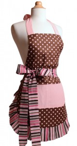 Pink-Chocolate-Womens-Flirty-Apron-Front