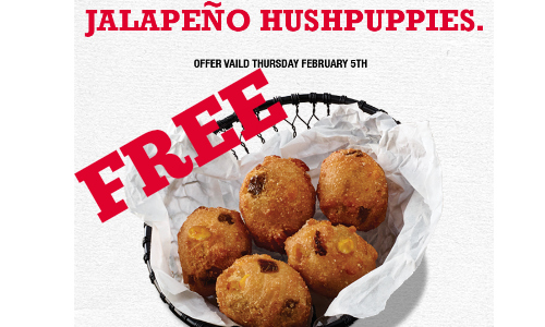 arby's hushpuppies