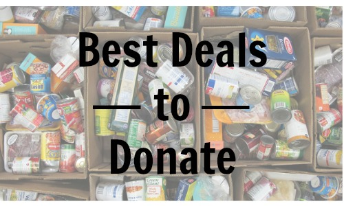 best deals to donate 1