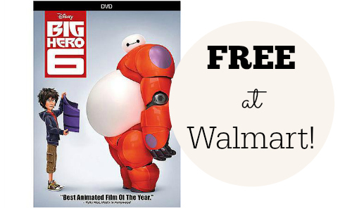 big hero 6 dvd free