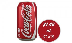 cvs extra deal coca cola