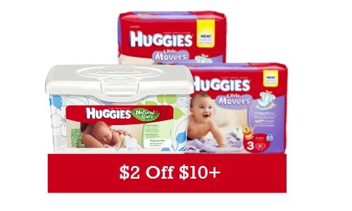 cvs store coupon huggies