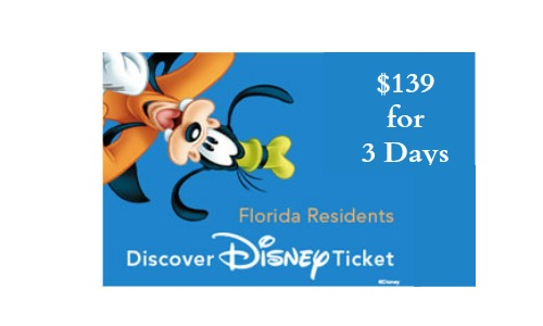 disney deal florida residents