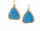 druzy earrings 2