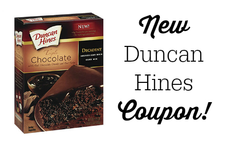 duncan hines coupon