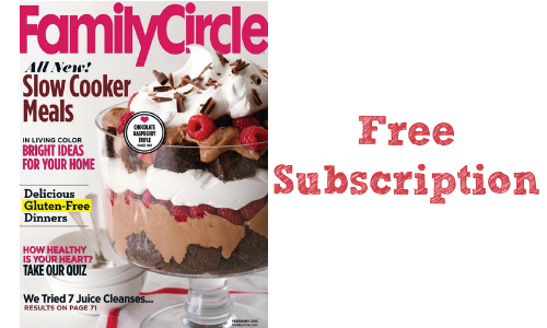 Looking For Fun Family Activities And New Recipes To Try This Fall Fill Out Easy Form Get Circle Magazine FREE A Whole Year
