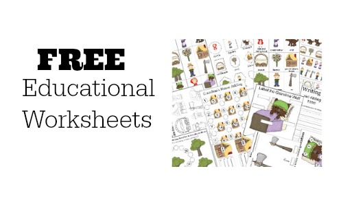 free educational worksheets