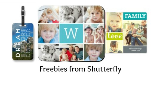 freebies from shutterfly
