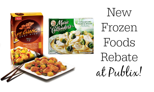 frozen foods rebate