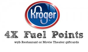 kroger 4x fuel points