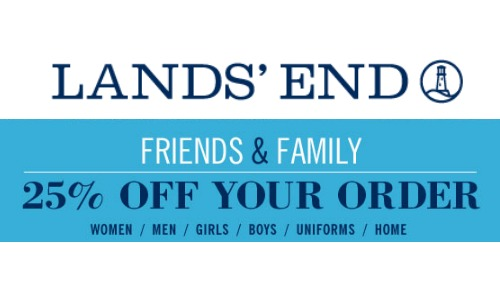 lands end friends and family sale
