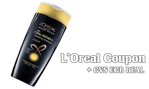 loreal coupon cvs ecb deal
