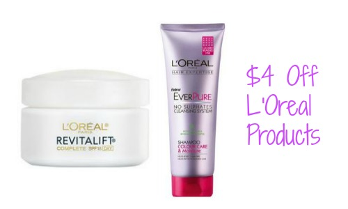 loreal coupons