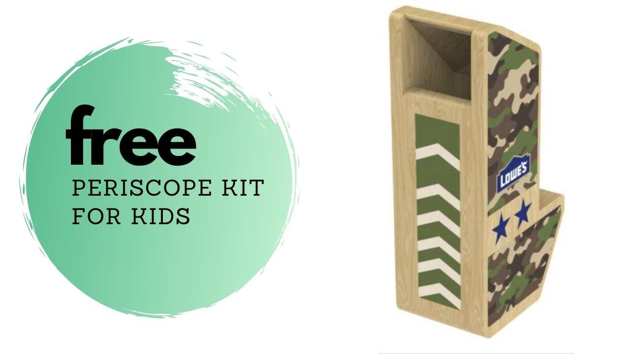 free periscope kit