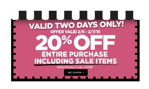 michaels coupon 20 off 2.7