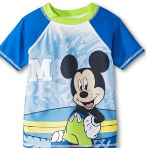 mickey swimshirt
