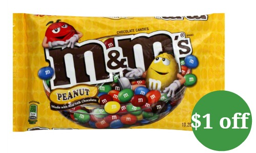 m&m's coupon 1 off