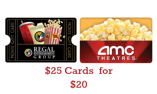 staples deal   25 movie theater gift card for  20    southern savers